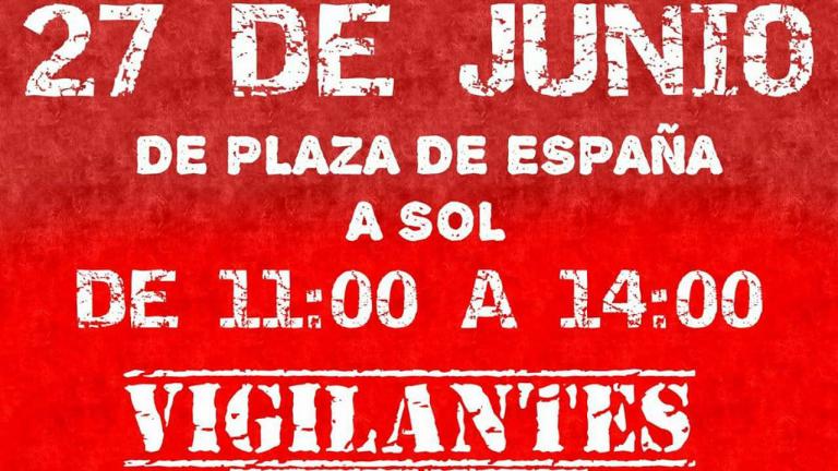 27 junio manifestación